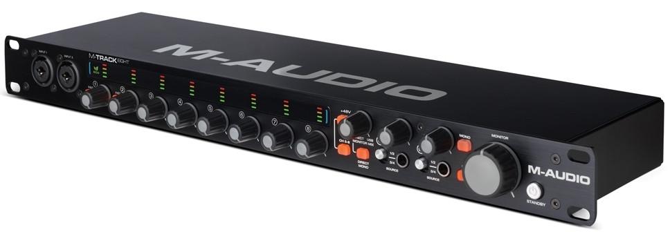 Аудіоінтерфейс M-Audio MTrack Eight