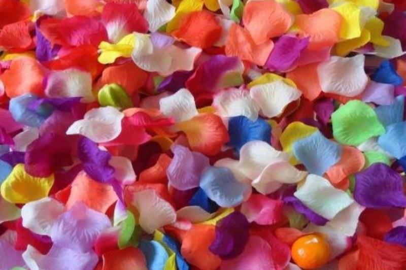 Лепестки роз для декора микс 1000 шт