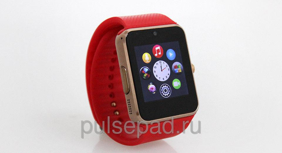 Умные часы UWatch Smart GT08 Red