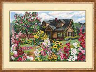 Набор для вышивки крестом Риолис 978 Цветущий сад