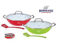 Сковорода вок ( казан ) Bohmann BH-605-32 (32 см)