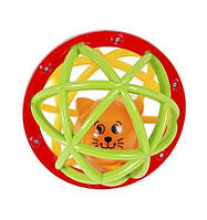 Погремушка-шарик Шустрый котёнок,  Kiddieland