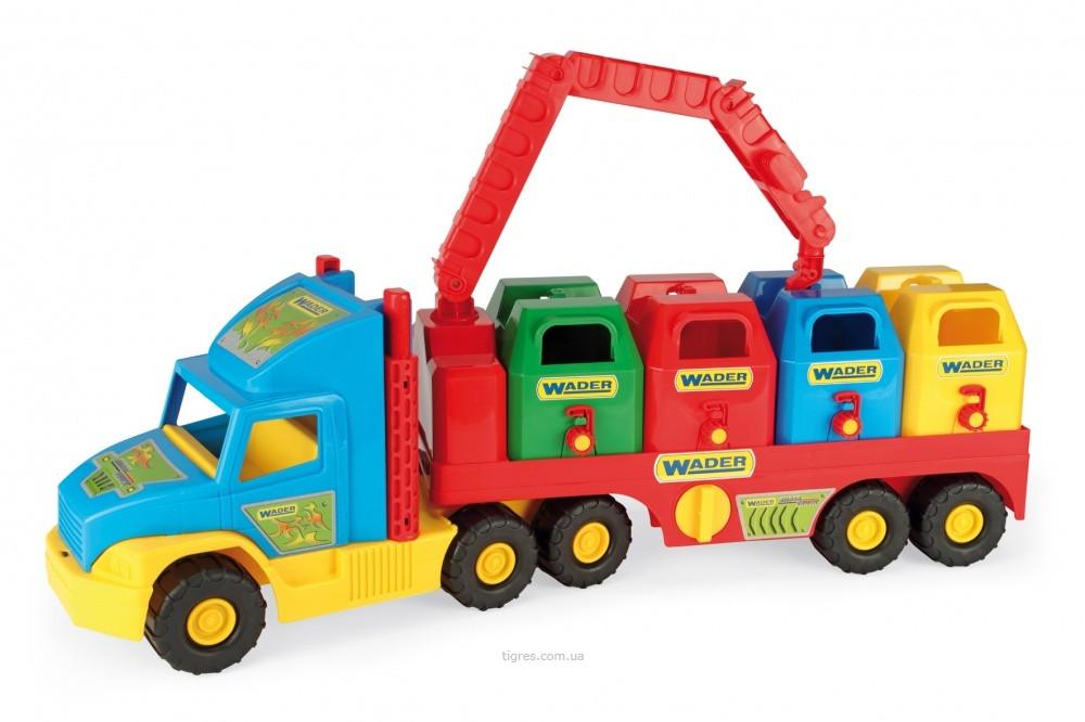 Игрушечный мусоровоз Super Truck