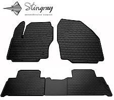 Ford S-Max  2007- Комплект из 4-х ковриков Черный в салон