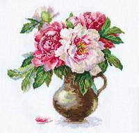 Набор для вышивки крестом Алиса 2-21 Цветущий сад.Пионы
