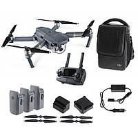 Квадрокоптер для видеосъемки DJI Mavic Pro Fly More Combo