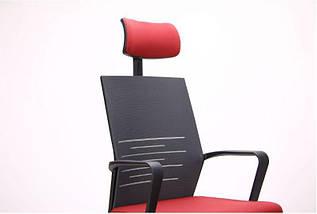 Кресло Nitrogen HB графит/бургунди, фото 3