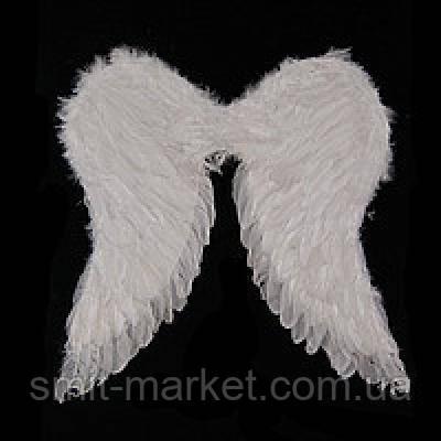 Крылья Амура большие 55х55см (белые), фото 2