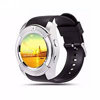 Смарт-часы UWatch SmartWatch SW V8 (Silver)