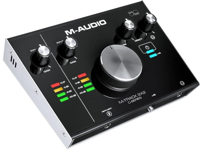 Аудіоінтерфейс M-Audio M-Track 2X2