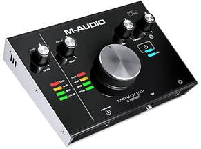 Аудіоінтерфейс M-Audio M-Track 2X2, фото 2