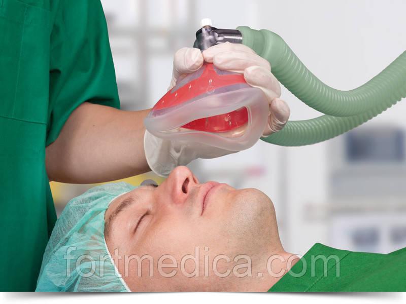 Анестезиологическая силиконовая многоразовая маска с раздуваемой манжетой VBM (срок)