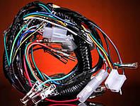 Проводка Дельта Delta 110куб с тахометром ( 2 фишки у руля )