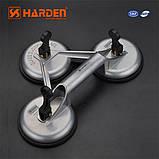 Профессиональный стелосъемник тройной алюминиевый усиленный Harden Tools 620607 , фото 2