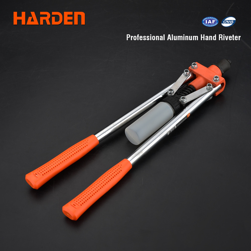 "Заклепочник важільний професійний дворучний 17"", для заклепок 3,2-4,8 мм Harden Tools 610113"