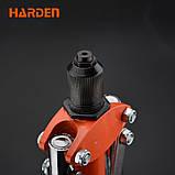"""Заклепочник важільний професійний дворучний 17"""", для заклепок 3,2-4,8 мм Harden Tools 610113, фото 2"""