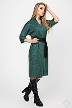Женское платье из ангоры ниже колен (Нинель leо), фото 2