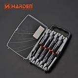 Профессиональный набор отверток для точных работ универсальный, 9 предметов Harden Tools 550122, фото 2