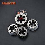 Профессиональный набор метчиков и плашек, 12 предметов Harden Tools 610457, фото 4