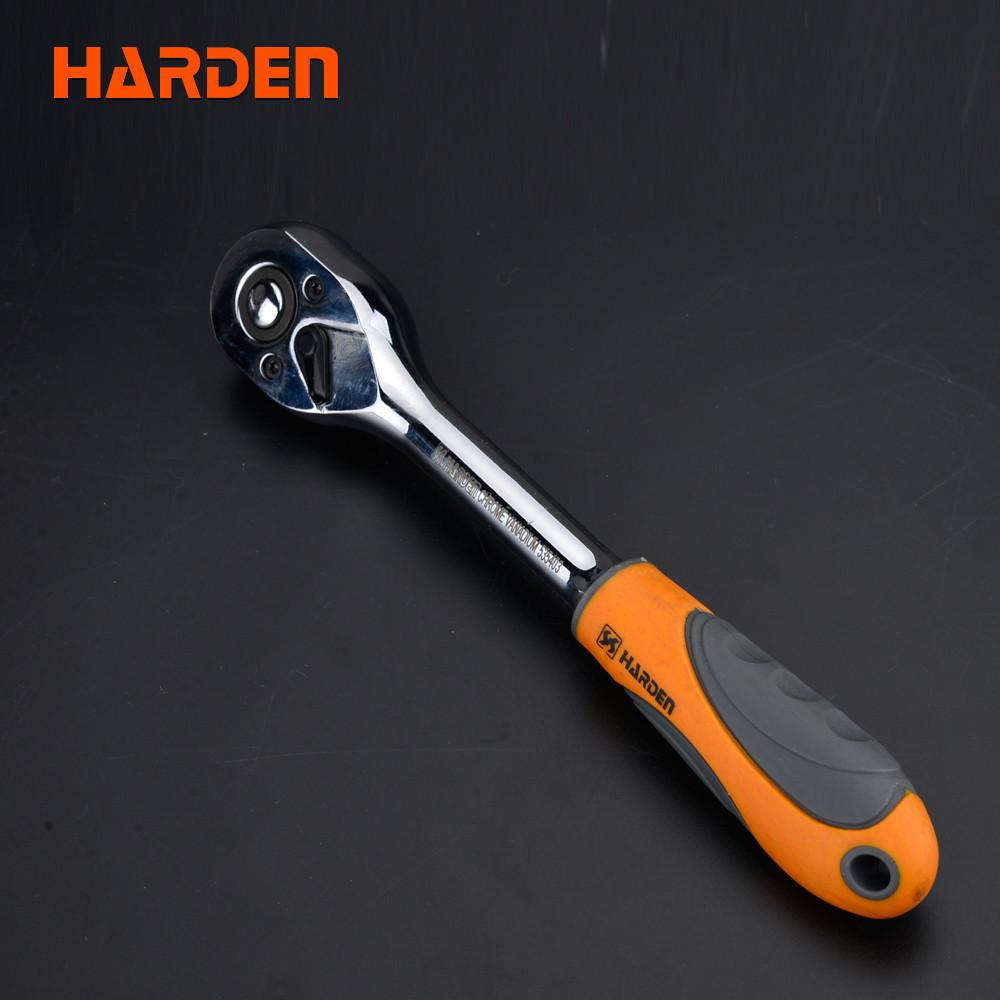 """Трещетка 1/4"""", 72 зуба Harden Tools 535303"""