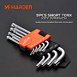 Набор шестигранников Torx 9 ед. Harden Tools 540601, фото 3