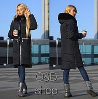 456d11aa7 Модная стеганная куртка капюшон с мехом новинка 2019 интернет-магазин  Minova большой размер 44-