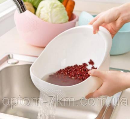 Миска для миття фруктів і овочів Best Kitchen 22 см 2457 VJ