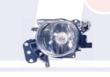 Фара противотуманная левая С патроном 08-  BMW 5 (E60; E61) 344-2007L-AQ DEPO