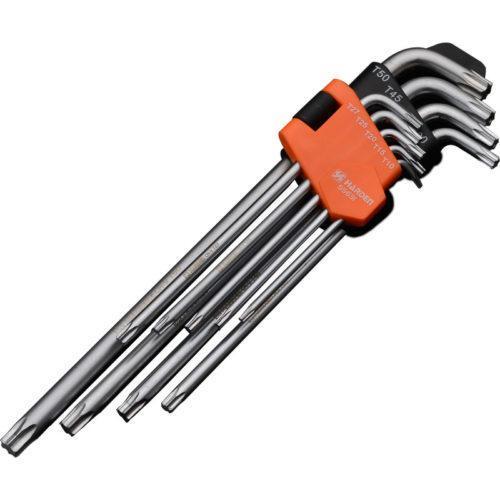 Набор шестигранников экстрадлинных Torx 9 ед. Harden Tools 540607