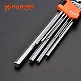 Комплект шестигранників экстрадлинных Hex 9 од. Harden Tools 540608, фото 5