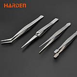 Набор пинцетов 4 шт. Harden Tools 660238, фото 3