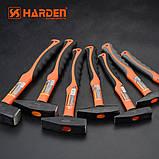 Профессиональный молоток с фиберглассовой ручкой 1 кг Harden Tools 590040, фото 4