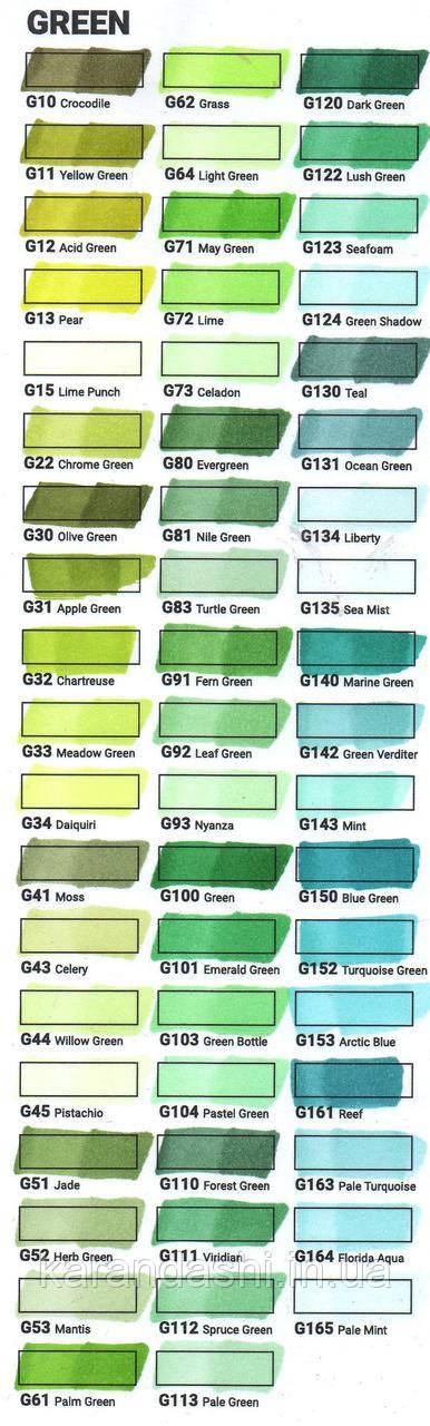 Скетчмаркер SKETCHMARKER BRUSH Lime (Зеленый лайм) SMB-G072