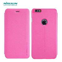 Чохол-книжка для iPhone 6 Plus/6s Plus Nillkin Sparkle Series Рожевий