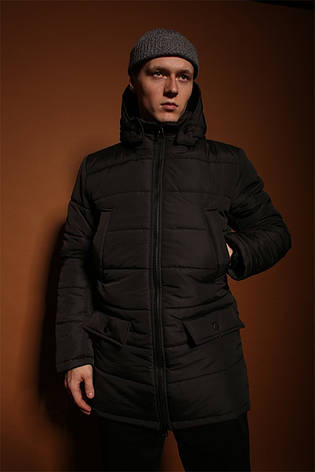 Мужская зимняя куртка/парка (до -30°С) 3 цвета в наличии, фото 2