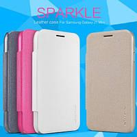 Чохол-книжка для Samsung Galaxy A605 A6+ Nillkin Sparkle Series Чорний
