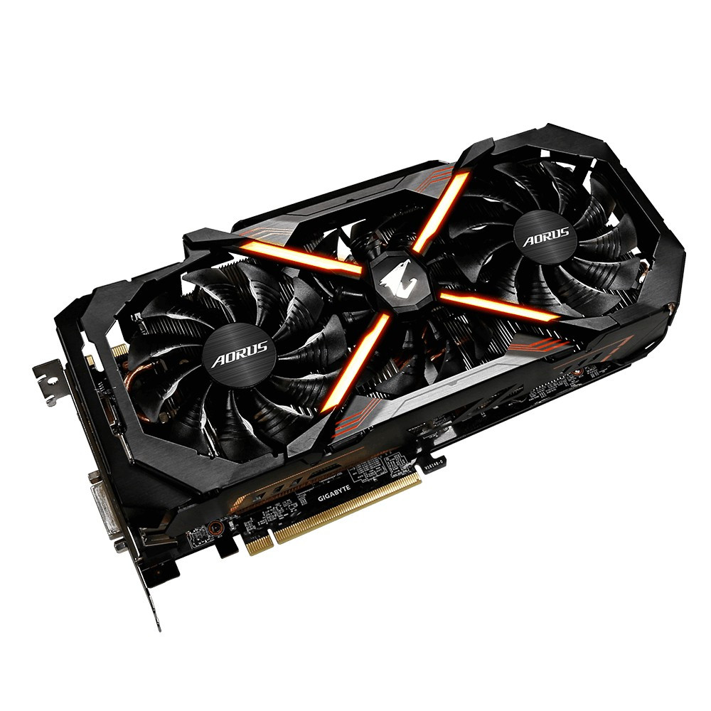 Видеокарта GIGABYTE GeForce GTX 1080 Ti AORUS Xtreme Edition 11G (GV-N108TAORUS X-11GD)