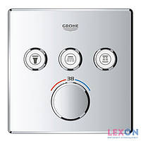 Наружная часть термостата для ванны Grohe SmartControl 29126000