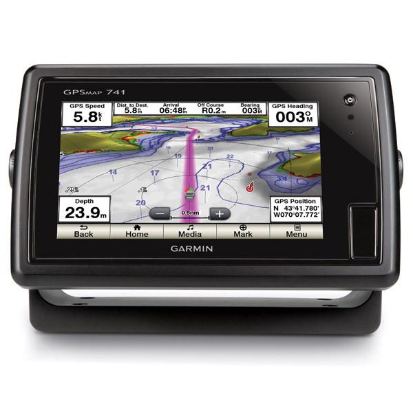 Картплоттер(GPS)-эхолот Garmin GPSMAP 741 (010-01102-00)