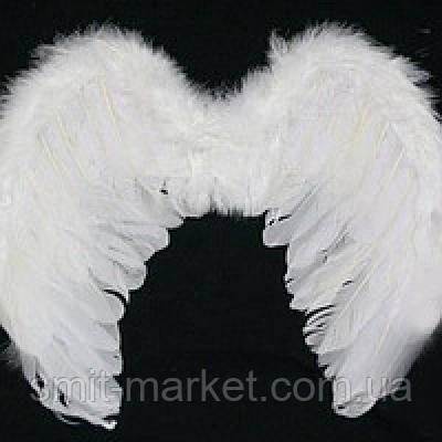 Крылья Ангела Гигант 55х80 см (белые)