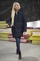 a7f3461b7 Модная стеганная куртка капюшон с мехом новинка 2019 интернет-магазин  Minova большой размер 46-