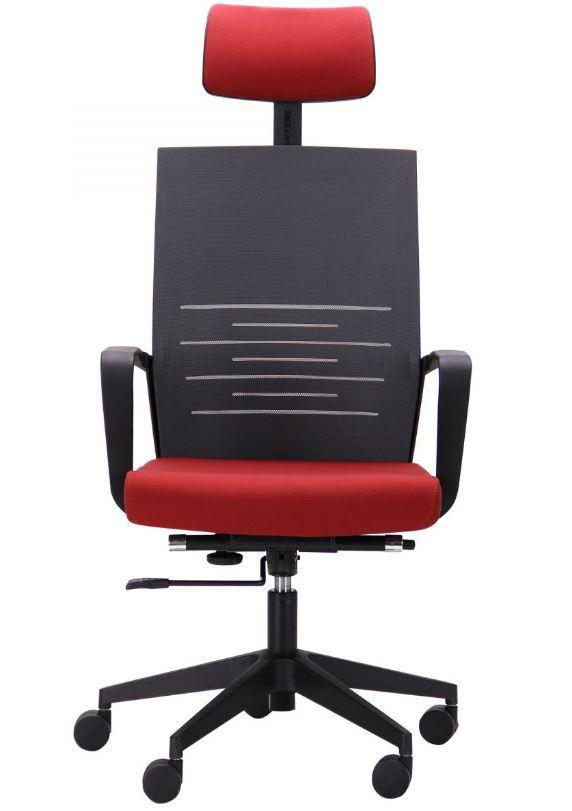 Кресло Nitrogen HB графит/бургунди (фото 2)