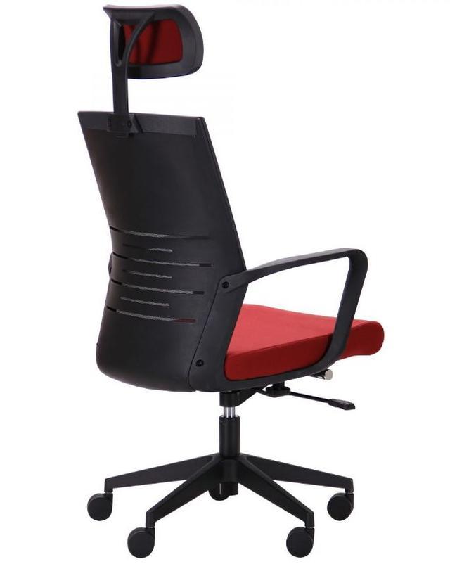 Кресло Nitrogen HB графит/бургунди (фото 4)