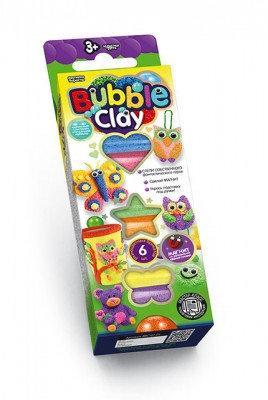 Шариковый пластилин Bubble Clay 6 цветов Danko Toys (BBC-01-01)