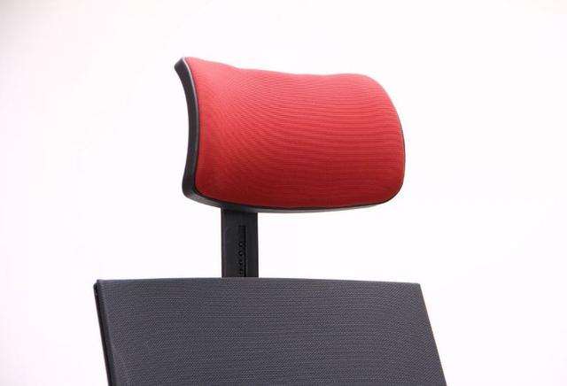 Кресло Nitrogen HB графит/бургунди (фото 6)