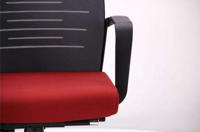 Кресло Nitrogen HB графит/бургунди (фото 9)