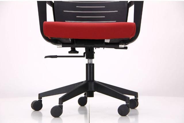 Кресло Nitrogen HB графит/бургунди (фото 13)