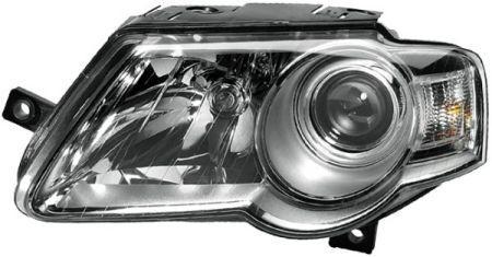 Фара передня, права, ел.реєстр. галоген, Н7/Н7 [HELLA] VW PASSAT 1EL 247 014-022 HELLA