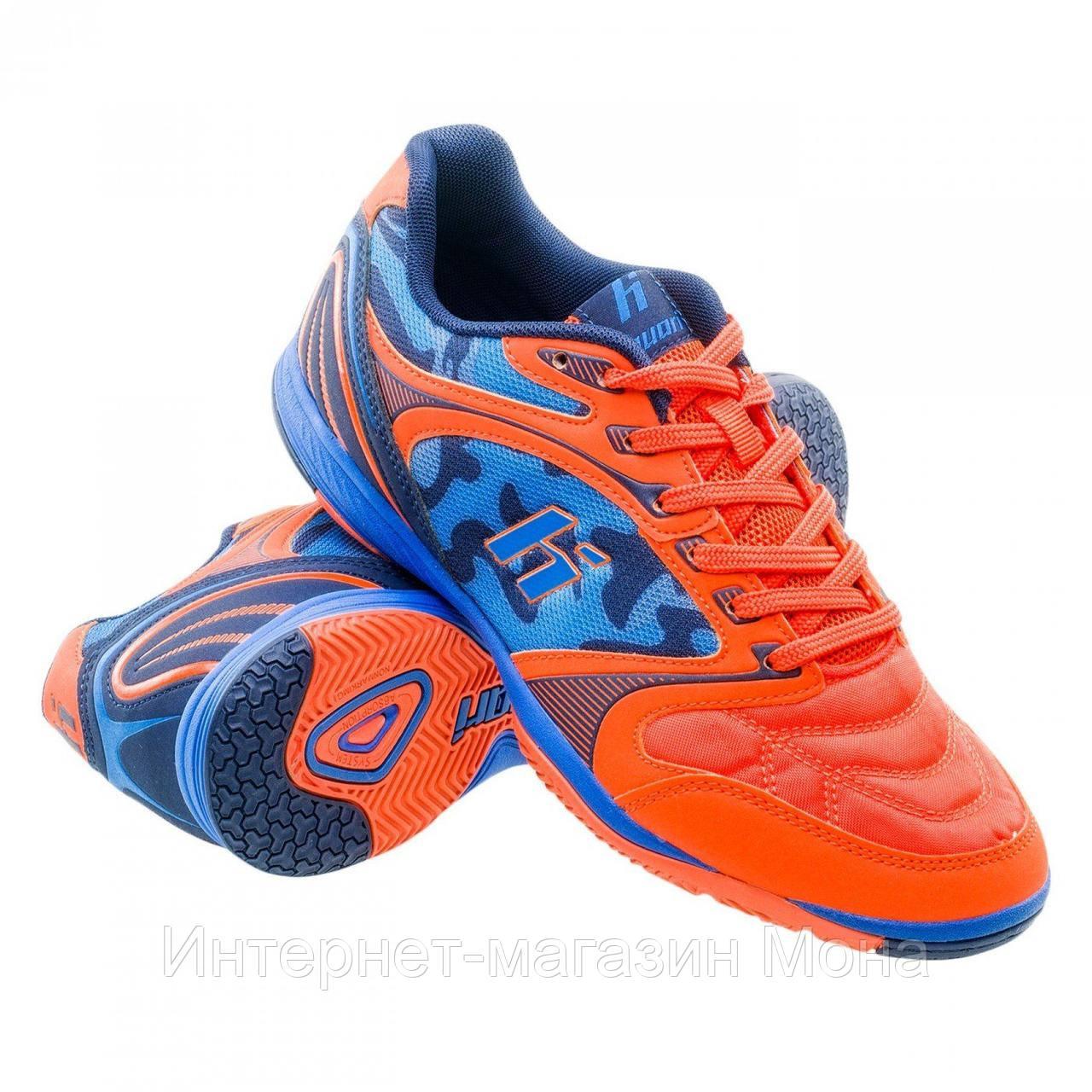 63f4e854 Huari футбольные бутсы EDINSON IC orange/navy/lake blue р. 41 - Интернет