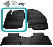 Ford S-Max 2007- Водительский коврик Черный в салон